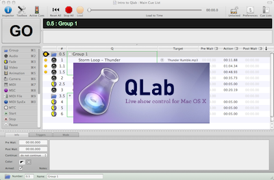 Qlab Tutorials