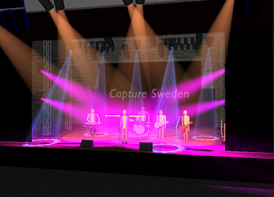 Capture Visualisation Stage Lighting
